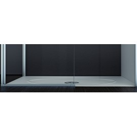 Moove Shower trays 90x70 h3,5cm Jacuzzi  Bianco Lucido