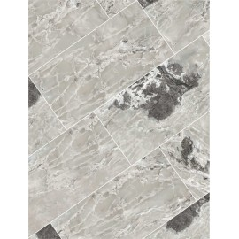 ONYX e MORE  SILVER BLEND GLOSSY 6MM 160X320 RECTIFIED - CASA MOOD   765989