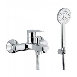 Bongio PI7 miscelatore vasca esterno completo di set doccia