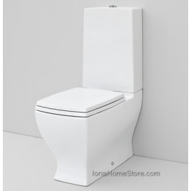 ARTCERAM JAZZ CLOSE-COUPLED WC  JZV003 + CERAMIC CISTERN + PLASTIC CISTERN WITH WASTE SYSTEM