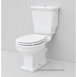 "ARTCERAM HERMITAGE ""S""   TRAP CLOSE-COUPLED WC  HEV004/HEV008 + CERAMIC CISTERN+DOBLE FLOW DOSCHARGE"