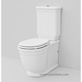 ARTCERAM HERMITAGE BACK TO WALL CLOSE-COUPLED WC  HEV006 + CERAMIC CISTERN+WASTE SYSTEM DOUBLE FLOW