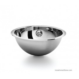 ACQUAIO D. 330 BUILT-IN WASHBASIN STEEL INOX LINEABETA
