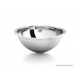 ACQUAIO D. 440 BUILT-IN WASHBASIN STEEL INOX LINEABETA
