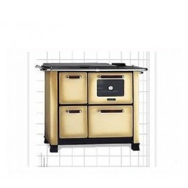 Kitchen Stove Classica 450 Marrone Sfumato 6 Kw Dal Zotto