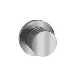 TIME 2020 Brushed stainless steel (1 in-2out) ways deck bath diverter 70535