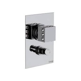 PURE GLAM Built-in shower mixer with diverter 3P529