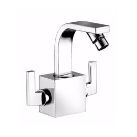 MYAMIX Monoforo Bidet with clic-clac waste e Swivel spout 45522