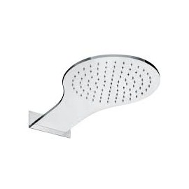 WELLNESS Steel round wall shower  Bongio 14889