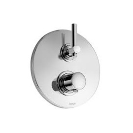 "T LEVER Built-in thermostatic mixer 1/2"" Chrome  Bongio 31544"