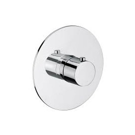 "AQUA Built-in thermostatic shower mixer 3/4"" without lock Chrome  Bongio 40554-R"