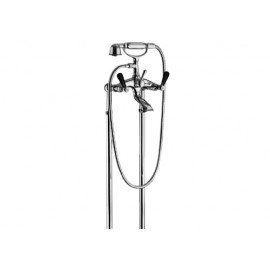 MILLE NUITS External bath mixer to the floor with shower set Chrome  Bongio 22528