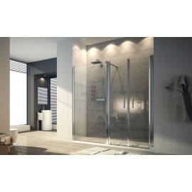 Aurea Door  Shower cabin  from  100cm Chrome  Crystal 6mm Transparent