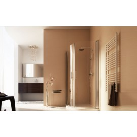 Free Semicircular Panels Shower cabin  from  80X80cm Chrome  Crystal 6mm Transparent