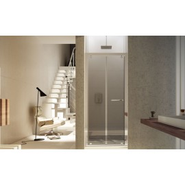 Ares Door Shower cabin  from  70cm Chrome  Crystal 6mm Transparent