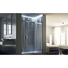 Maya Panels Shower cabin  from  100cm Chrome  Crystal 6mm Transparent