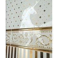 GIGLIO ORO SU PANNA 20X20 GRAND ELEGANCE GOLD Petracer's