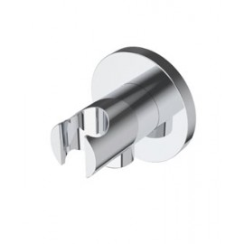 Diametro35 Inox water-connection with hand-shower support   Ritmonio