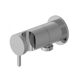 Prese acqua water-connection with hand-shower support   and flow regulator  Ritmonio