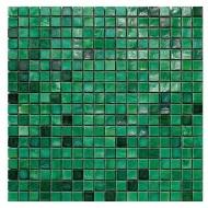 Emerald J 1,5x1,5cm - foglio  29,6x29,6cm Mosaico Sicis