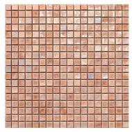 Coral 3 1,5x1,5cm - foglio  29,6x29,6cm Mosaico Sicis