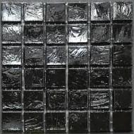 Black  1,5x1,5cm - foglio  29,6x29,6cm Mosaico Sicis