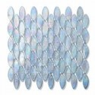 245 Cashmere Domes Iridiscendente 51,5x2,1-foglio  26,9x25,3 Mosaico Sicis