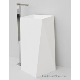 ARTCERAM SHARP FREESTANDING / BACK TO WALL WASHBASIN OSL008
