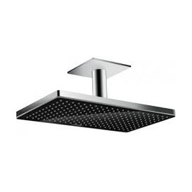 Hansgrohe Rainmaker Select 460 1 jet Overhead  with ceiling mounting 100 mm nero/cromo 24002600