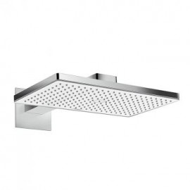 Hansgrohe Rainmaker Select 460 1 jet Overhead  with shower arm  460 mm nero/cromo 24003600