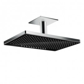 Hansgrohe Rainmaker Select 460 2 jet Overhead  with ceiling mounting 100 mm nero/cromo 24004600