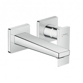 Hansgrohe Metropol  Single lever basin mixer with lever handle Built-in with wall-mounted spout   165mm 32525000
