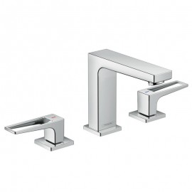 Hansgrohe Metropol  3-hole basin mixer  110 With stirrup handle   74514000