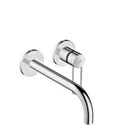 AXOR UNO  Built-in single-lever wall mixer With stirrup handle  225 Brushed Nickel  38122820