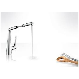 Metris Kitchen mixer  with removable spout   HANSGROHE 14821000