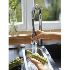 TALIS S VARIARC Kitchen mixer with pull-out hand shower  CROMO  Hansgrohe 14877000