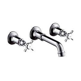 MONTREUX SET 3-hole wall-mounted built-in tap for sink   Cromo  AXOR 16532000