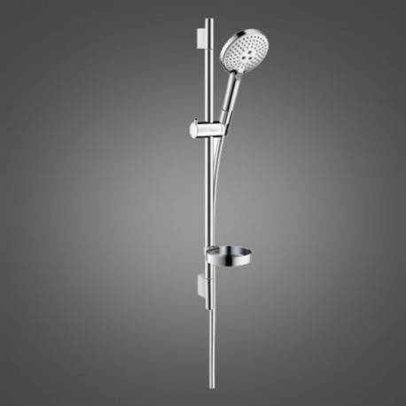raindance select s 120 shower rail set 0 65 m hansgrohe 26630000. Black Bedroom Furniture Sets. Home Design Ideas
