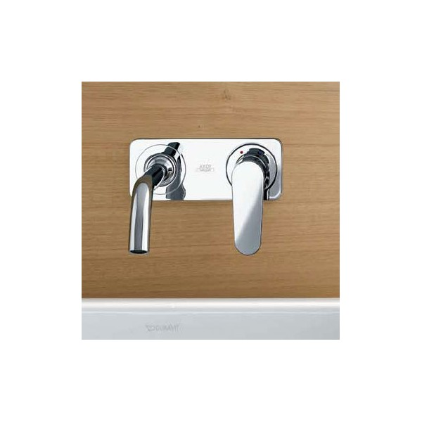 AXOR CITTERIO Concealed, wall-mounted single lever basin mixer with ...