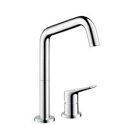 AXOR CITTERIO M Kitchen mixer tap  2 Holes  Optic steel   AXOR 34820800