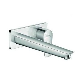 Talis E Wall mounted single lever basin mixer with 22.5 cm spout Hansgrohe 71734000
