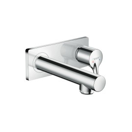 Talis S Wall mounted single lever basin mixer with spout 16.5 cm Hansgrohe 72110000