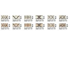 MAY DECORO SLEEK DAO WHITE 10X20 cm - Iris Ceramica 512039
