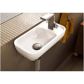 PASS WASHBASIN 40X22 COUNTERTOP/WALL-HUNG WHITE   - Ceramica Flaminia PS40LD
