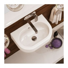 PASS WASHBASIN 45X31 COUNTERTOP/WALL-HUNG WHITE   - Ceramica Flaminia PS31LM