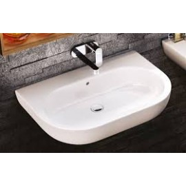 PASS WASHBASIN 62 COUNTERTOP/WALL-HUNG WHITE   - Ceramica Flaminia PS62L