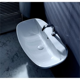WASHBASIN 60 NUDASLIM TAP LEDGE WHITE   - Ceramica Flaminia ND60PR