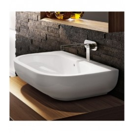 PASS WASHBASIN 72 COUNTERTOP/WALL-HUNG WHITE   - Ceramica Flaminia PS72L