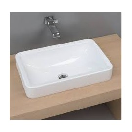 NILE WASHBASIN 62 BUILT-IN WHITE   - Ceramica Flaminia NL62INC