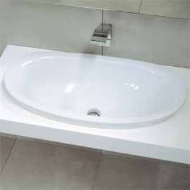 WASHBASIN 75 BUILT-IN IO WHITE  - Ceramica Flaminia IO4275